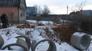 Копка колодцев в Наро-Фоминске