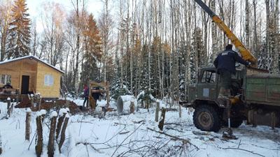 копка колодца в Наро-Фоминске