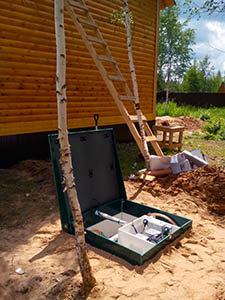Септик Топас с установкой в Московской области