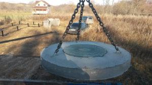 Доставка бетонных колец под ключ