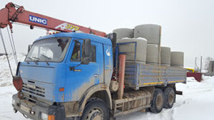 Доставка питьевых колец по Московской области