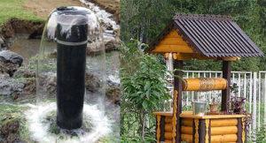 скважина или колодец, преимущества колодца в водоснабжение дома