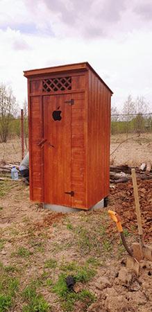 установка дачного туалета в Можайске