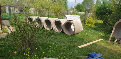 копка колодца в Красногорске