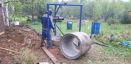 рытье колодца Егорьевск