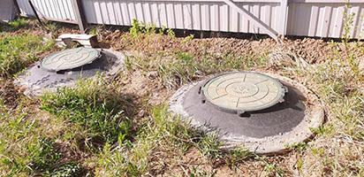 бетонный септик в Можайске