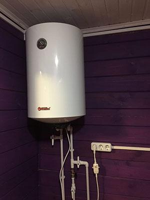 подключение бойлера для нагрева воды