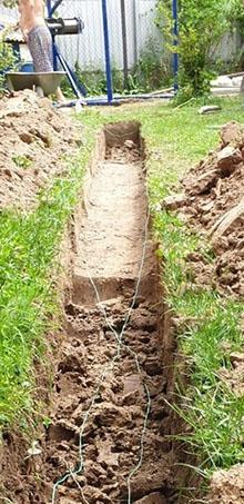 копка колодца в Серпухове