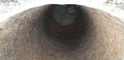 копка колодца в Солнечногорске