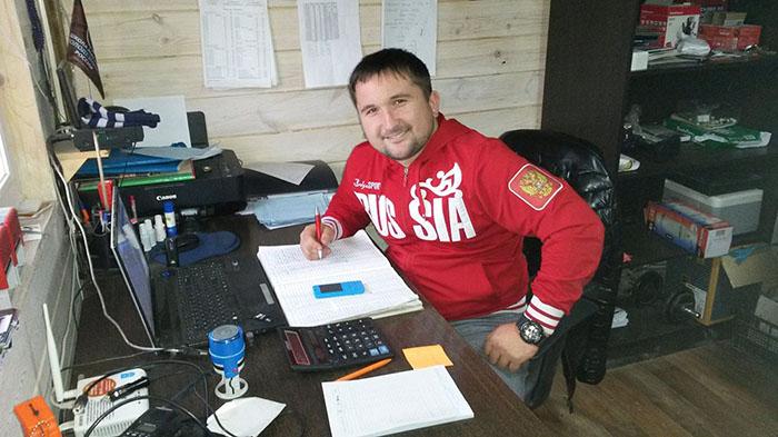Руководитель Союза колодезников Богданов Марат