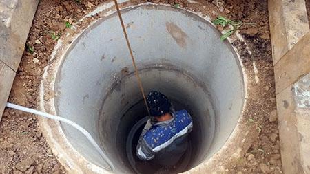 углубление колодца в Можайском городском округе под ключ