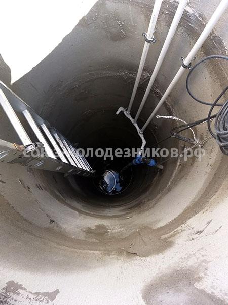Востановление колодца в Московской области