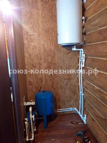 Водопровод в частном доме в Волоколамском районе