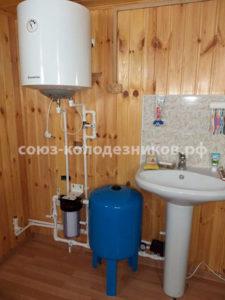 Водоснабжение дома в Истре
