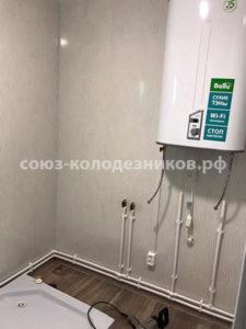 Водопровод в частном доме в Истринском районе