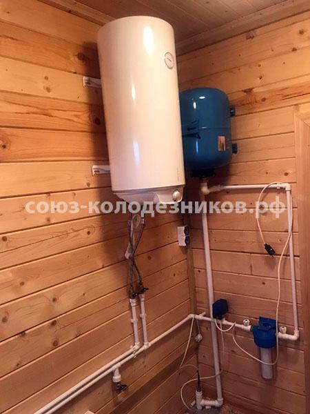 Водопровод в частном доме в Одинцовском районе
