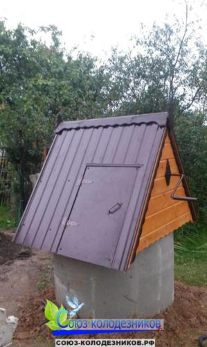 Домик для колодца в Подольске