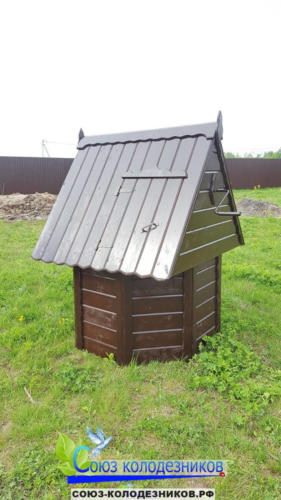 Домик для колодца в Балашихе