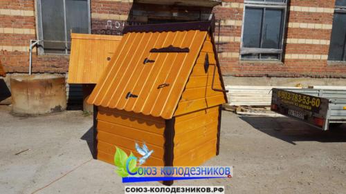 Домик для колодца в Пушкино