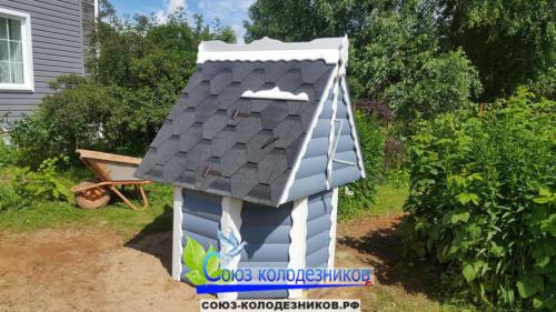 Домик для колодца в Домодедово