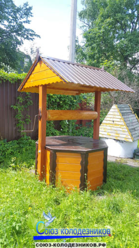 Домик для колодца в Шатуре