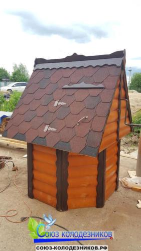 Домик для колодца в Сергиево-Посаде