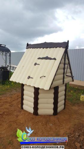 Домик для колодца в Наро-Фоминске