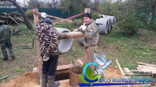 Копка колодца в Балашинском районе